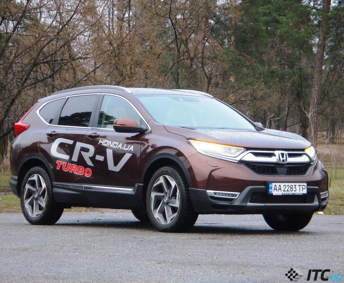 Тест-драйв Honda CR-V 1.5 <b>Turbo</b>: ТОП-5 вопросов и ответов ...