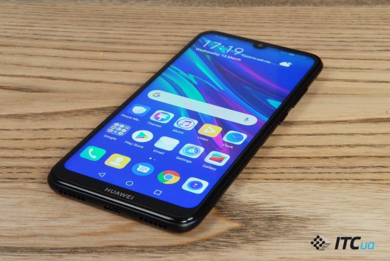 Обзор Huawei Y6 2019