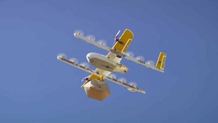 Сервис доставки еды дронами Wing вскоре запустится в Финляндии