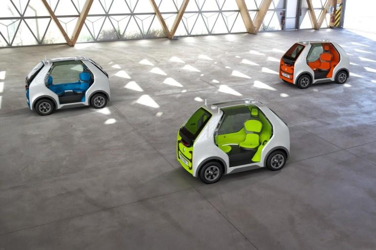 """Renault EZ-POD - компактный автономный электромобиль для доставки пассажиров и грузов в пределах """"последней мили"""""""