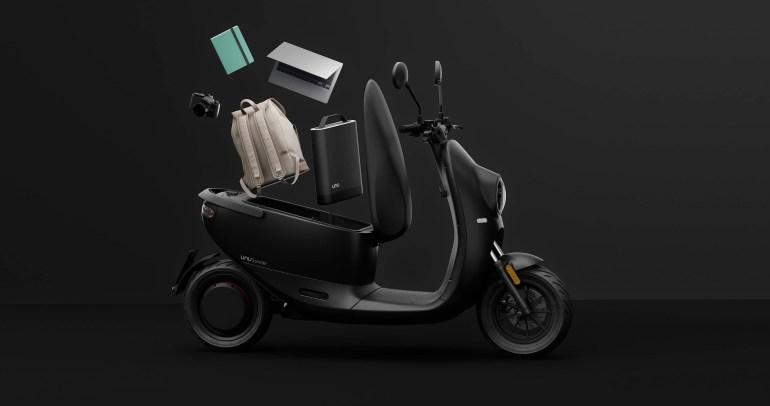 Компания Unu представила обновленную версию своего электроскутера