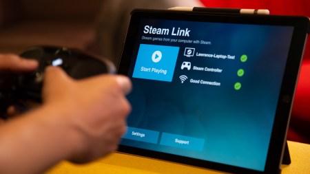 Приложение Steam Link для трансляции игр с ПК все же вышло на iOS и Apple TV