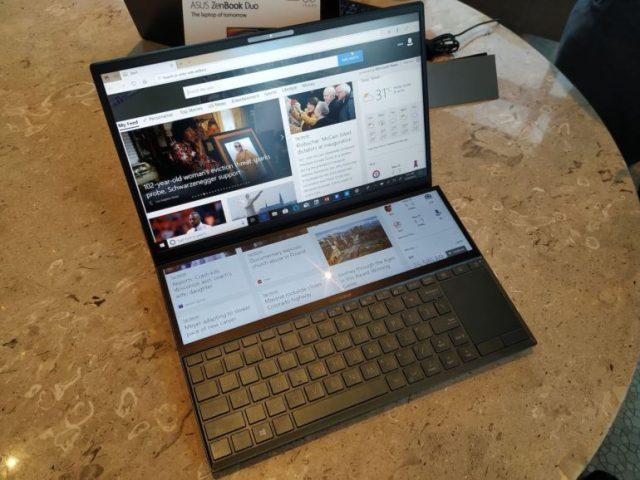 Computex 2019: ASUS ZenBook Pro Duo — экстравагантный ноутбук с двумя сенсорными экранами разрешением 4K - ITC.ua