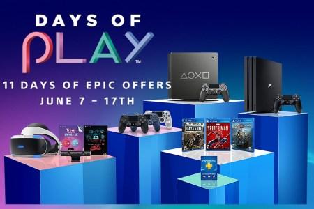 Sony анонсировала акцию Days of Play 2019 со скидками на консоли PS4, аксессуары и игры [с 7 по 17 июня]