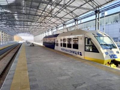 «Укрзалізниця» запускает сдвоенные составы Kyiv Boryspil Express в часы пик, экспресс перевёз уже 300 тыс. пассажиров