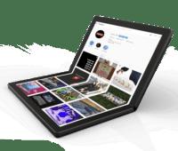 Lenovo показала первый в мире ноутбук с гибким экраном - ITC.ua