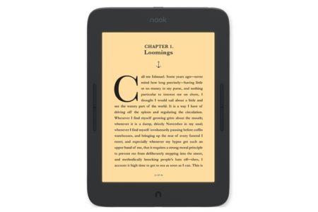 Barnes & Noble представила новый 7,8-дюймовый E Ink ридер Nook GlowLight Plus стоимостью $200 - ITC.ua