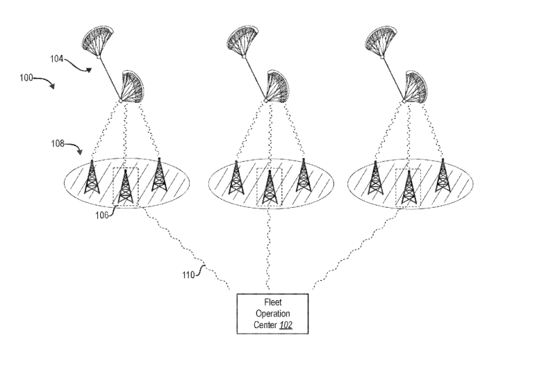 Facebook запатентовала БПЛА с двумя кайтами для длительного парения в воздухе
