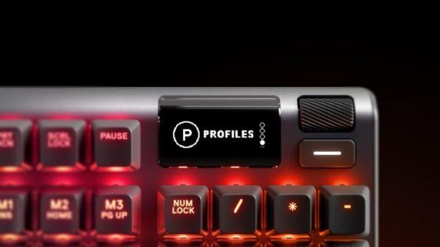 SteelSeries представила механическую клавиатуру Apex Pro с магнитными переключателями OmniPoint, которые можно настраивать в диапазоне от 0,4 мм до 3,6 мм - ITC.ua