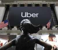 Uber вышла на Нью-Йоркскую биржу при оценке около $82,4 млрд. Это в полтора раза ниже ожидаемого значения - ITC.ua
