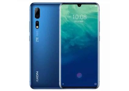 ZTE анонсировала флагманские смартфоны Axon 10 Pro и Axon 10 Pro 5G по цене от $473
