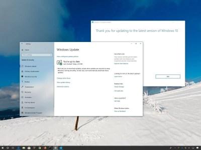 Microsoft начала широкое распространение следующего крупного обновления Windows 10 May 2019 Update