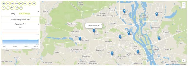 В Киеве открыли первую smart-улицу с бесплатным Wi-Fi, зарядками для электромобилей, «умным» освещением и системой мониторинга воздуха