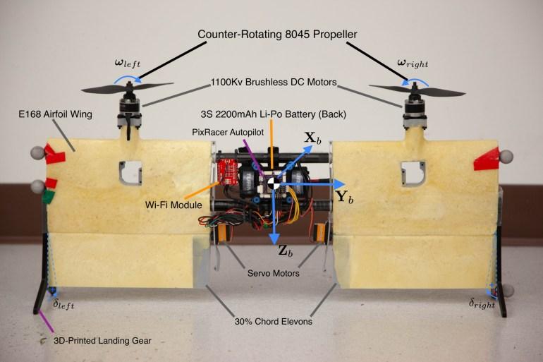 Инженеры из Университета Торонто представили открытый проект беспилотного тейлситтера Phoenix