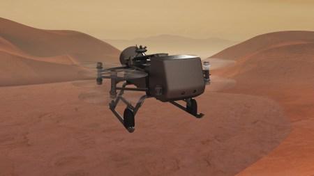 NASA отправит на спутник Сатурна (Титан) октокоптер