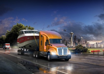 American Truck Simulator – Washington: к северу через северо-запад