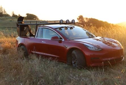 Изобретательница Симона Йетч превратила Tesla Model 3 в долгожданный пикап Tesla Pickup. Получилось весьма неплохо [Фотогалерея и видео]