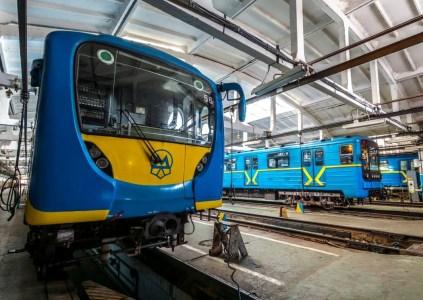 В конце 2020 года в киевском метро появятся вагоны с кондиционерами и бесплатным Wi-Fi, купленные за счет кредитов ЕБРР