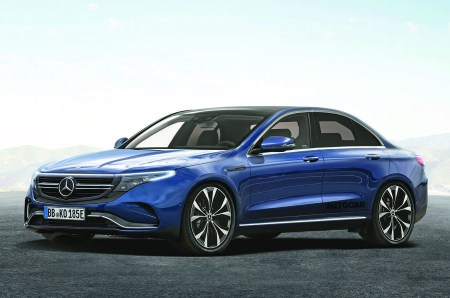 В 2022 году Daimler выпустит электрический седан Mercedes EQE с парой двигателей мощностью 400 л.с. и запасом хода 600 км