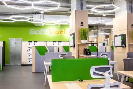 Коворкинг SoftWork — круче, чем просто офис. Удобнее, чем просто кафе