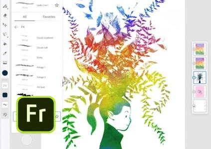 Fresco – новое приложение Adobe для рисования на iPad