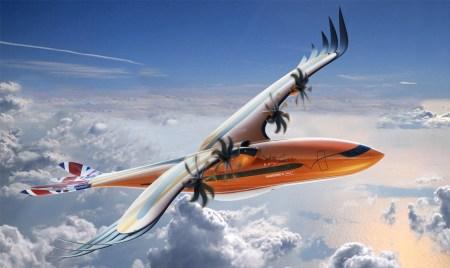 Airbus представил экспериментальный концепт пассажирского самолета Bird of Prey