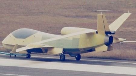 Китай задействовал БПЛА типа «Парящий дракон» для наблюдения за крейсером США