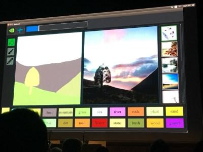 Nvidia разработала графический онлайн-редактор для своего нейросетевого художника GauGAN