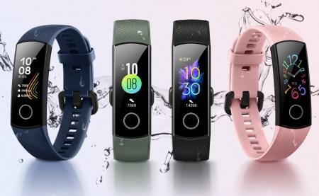 Фитнес-браслет Honor Band 5 представлен официально — цветной экран, сенсор уровня кислорода в крови, 14 дней автономности и NFC-версия по цене $28/$31