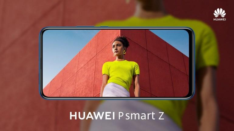 В Украине стартуют продажи 6,59-дюймового безрамочного смартфона Huawei P smart Z с выдвижной селфи-камерой по цене 7999 грн