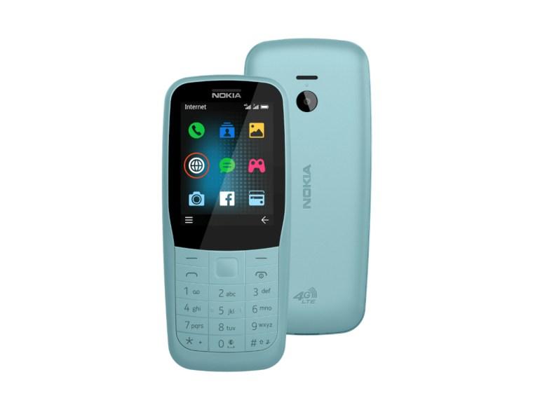 HMD Global представила мобильные телефоны Nokia 220 4G и Nokia 105 (2019)