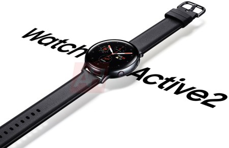 Умные часы Samsung Galaxy Watch Active 2 красуются на официальном изображении