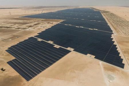 В ОАЭ запустили самую мощную частную солнечную электростанцию Noor Abu Dhabi с пиковой мощностью 1,18 ГВт