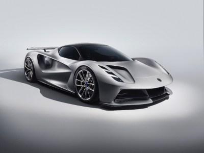Полностью электрический гиперкар Lotus Evija сможет разгоняться до 100 км/ч менее чем за 3 секунды, а на полную зарядку нужно всего 9 минут