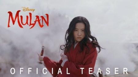 Первый тизер-трейлер Mulan / «Мулан» — киноверсии знаменитого мультфильма Disney о женщине-воине