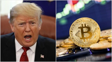 Дональд Трамп не в восторге от Bitcoin, Facebook Libra и криптовалют в целом