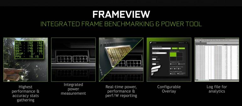 NVIDIA FrameView — новая бесплатная утилита оценки производительности и энергопотребления видеокарт