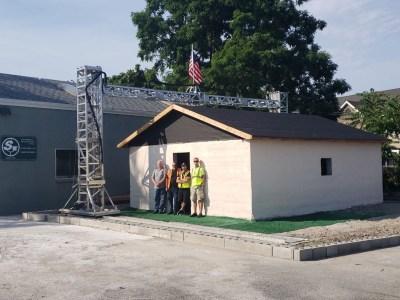 Стартапу SQ3D удалось напечатать небольшой дом всего за 12 часов