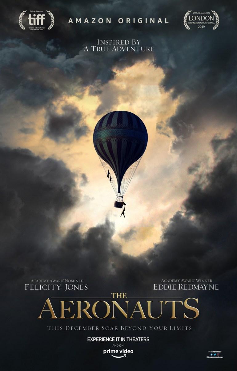 Основанная на реальных событиях приключенческая картина The Aeronauts обзавелась трейлером