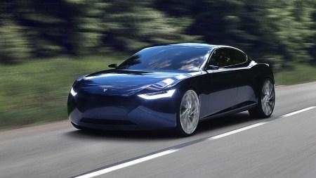 Норвежцы анонсировали конкурента Tesla Model S и Tesla Roadster — седан Riverie