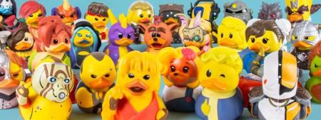Numskull представила коллекционных уточек по играм и фильмам