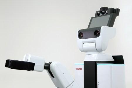 Toyota займется созданием роботов-гуманоидов для использования в быту