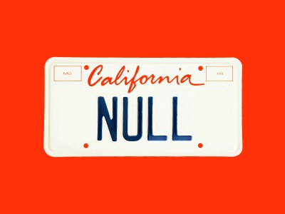 Американский хакер зарегистрировал индивидуальный номерной знак «NULL». Ох, зря