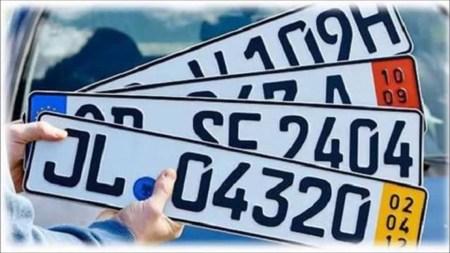 В Украине вступили в силу новые штрафы за управление автомобилями на еврономерах