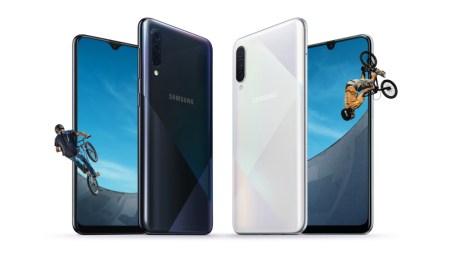 Улучшенные камеры и новый дизайн задней панели. Samsung представила обновленные смартфоны Galaxy A50s и A30s