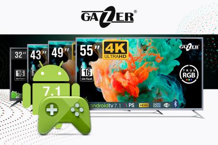 Gazer обновил линейку смарт телевизоров