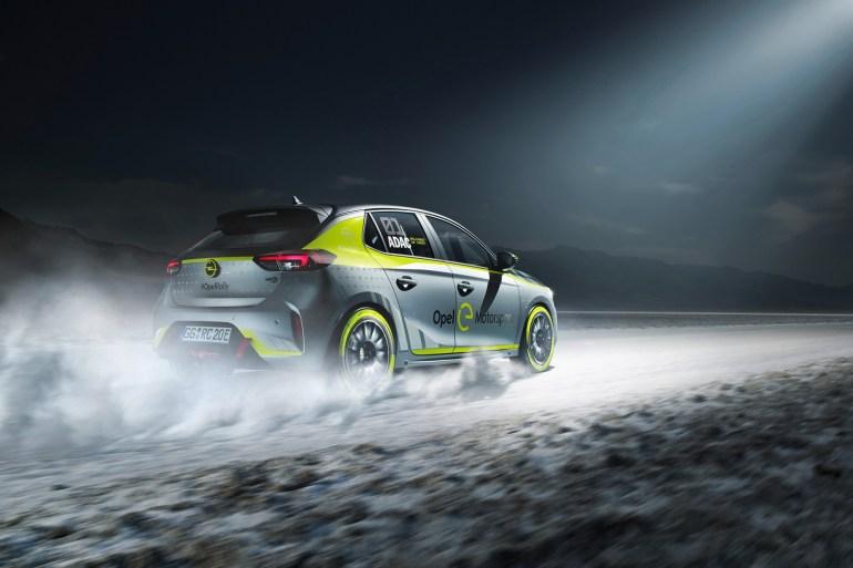Opel представил первый в мире раллийный электромобиль 02
