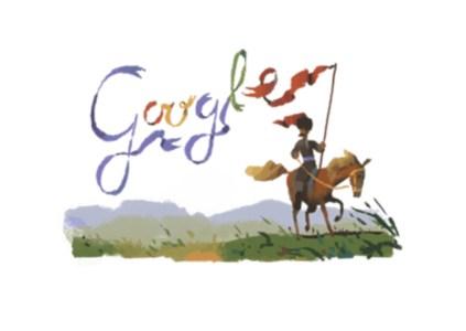 Сегодняшний дудл Google посвящен 200-летнему юбилею украинского писателя Пантелеймона Кулиша, автора исторического романа «Чорна Рада»