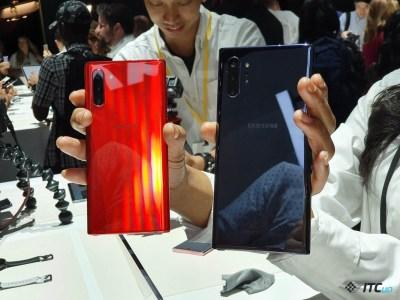 Первый взгляд на Samsung Galaxy Note10 и Note10+ - ITC.ua