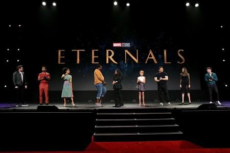 К супергеройскому фильму The Eternals / «Вечные» от Marvel присоединились Кит Харингтон и Джемма Чан